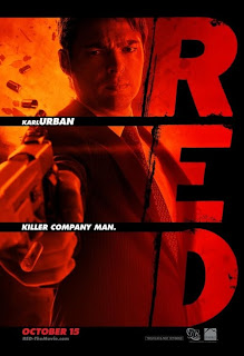 Karl Urban - red Movie