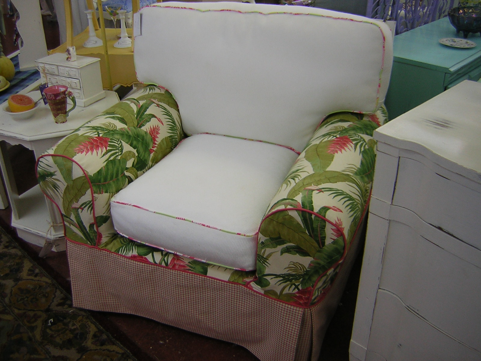 Slipcover Chic Before And After