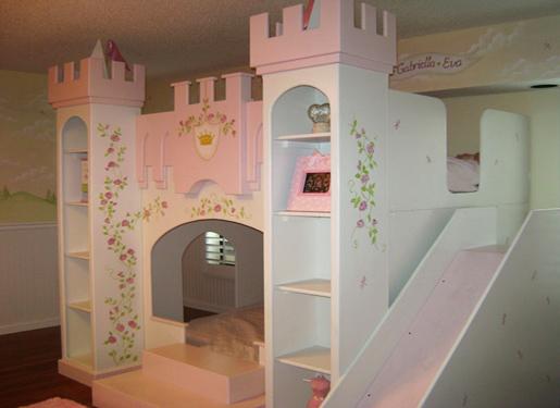 Castle Bunk Beds Kids Bedroom Design Idea Home Design