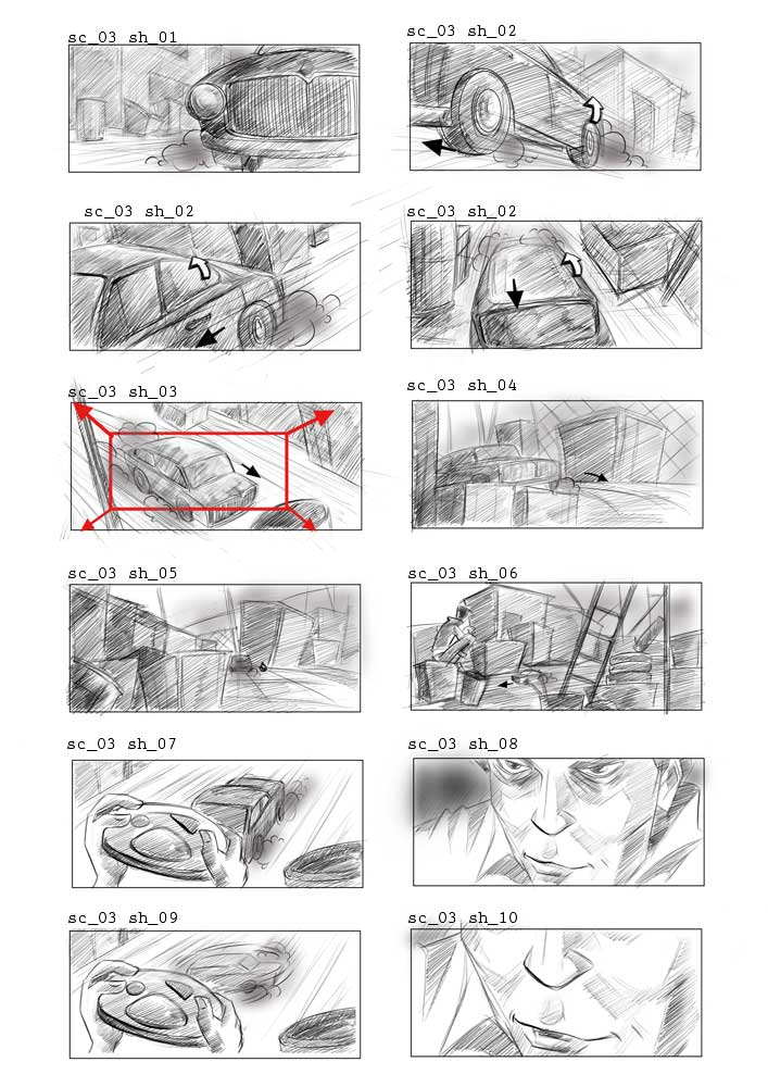 Between Lines Movie Storyboard Photograph The Treatment Of A