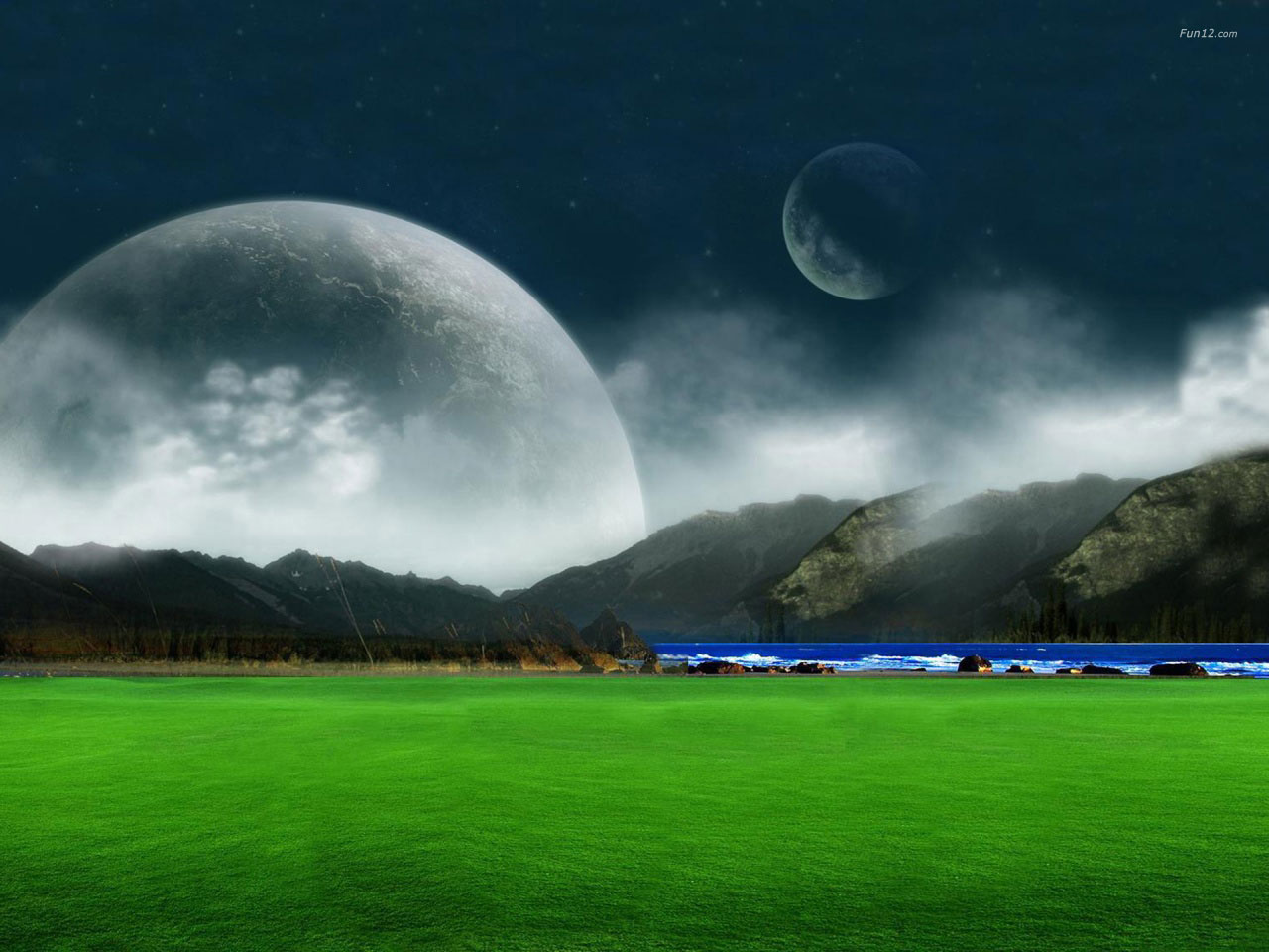 New 3d Wallpaper Landscape Desktop ~ Entertainment Site