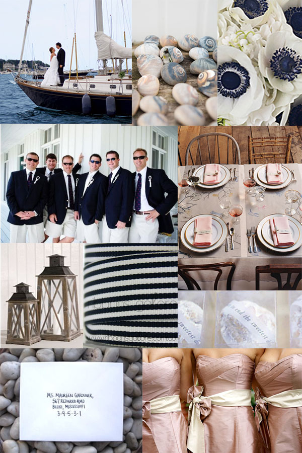 Your Wedding Support Get The Look  Nautical Themed Wedding