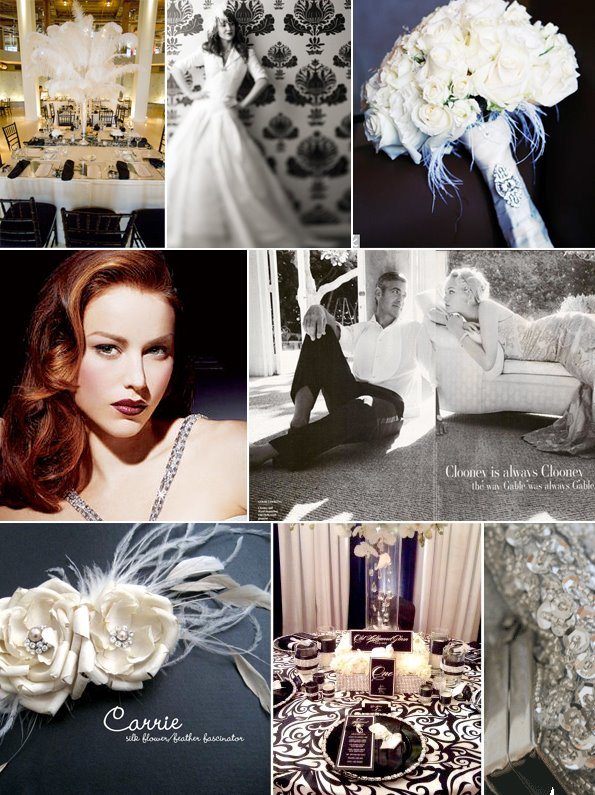 Your Wedding Support GET THE LOOK  Retro Hollywood Wedding