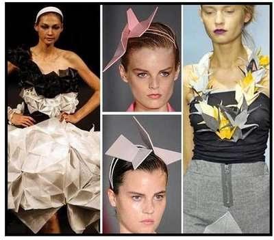 Ffion Griffith: Origami Fashion