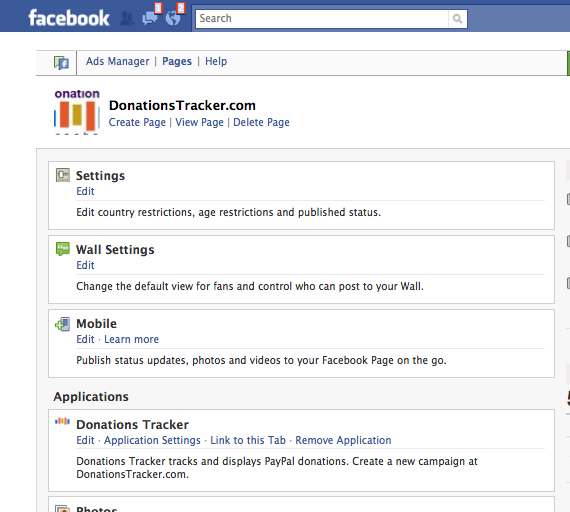 Donations Tracker for PayPal: Adding Donations Tracker to a