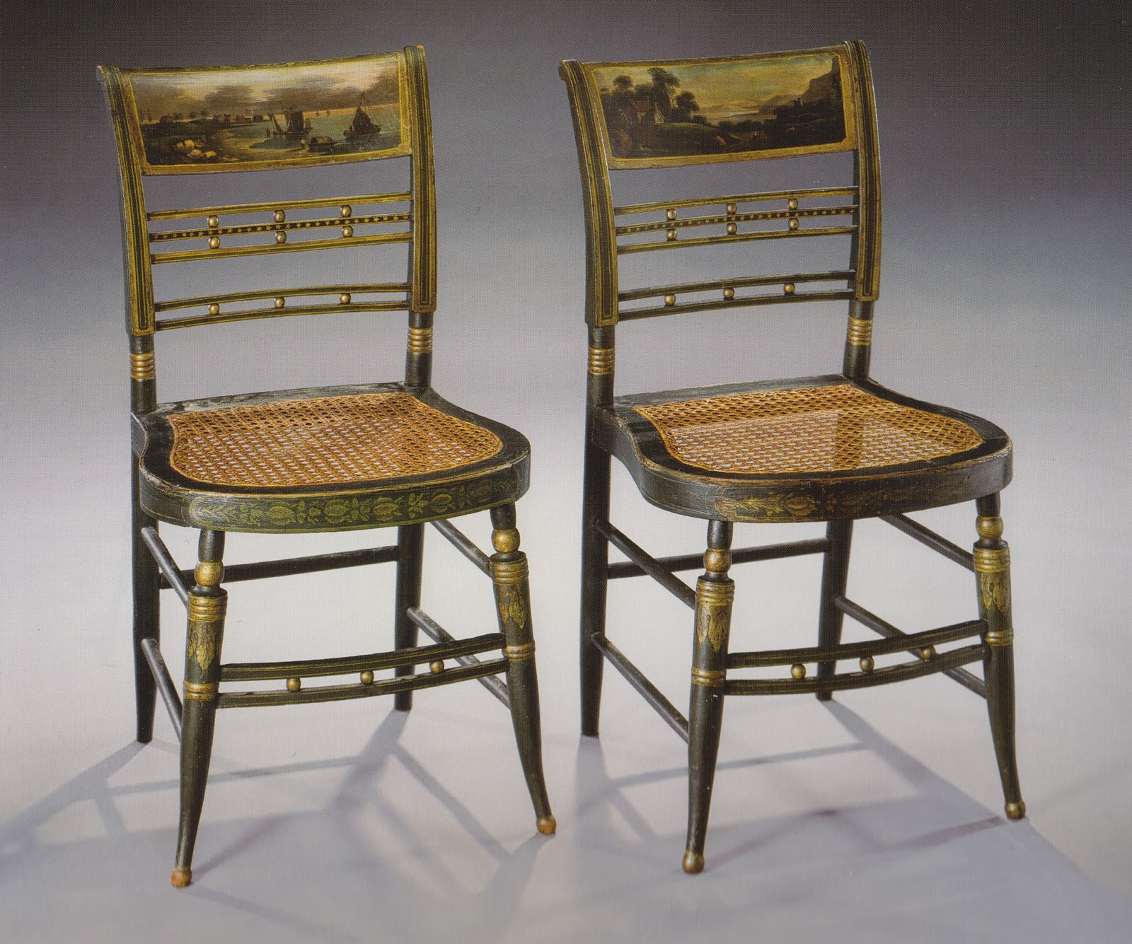 Furniture Chair: Reggie Darling: Winning Bid: American Fancy Chairs