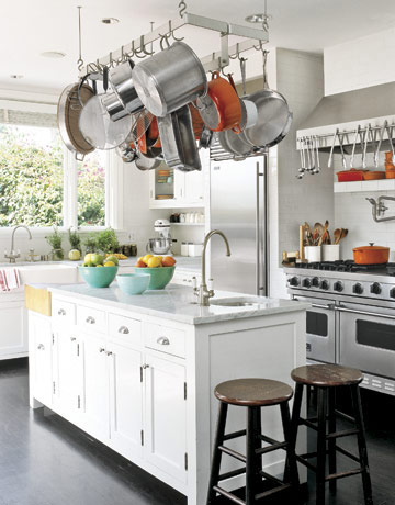 kitchen design hanging pots and pans whitehaven house kitchens 701