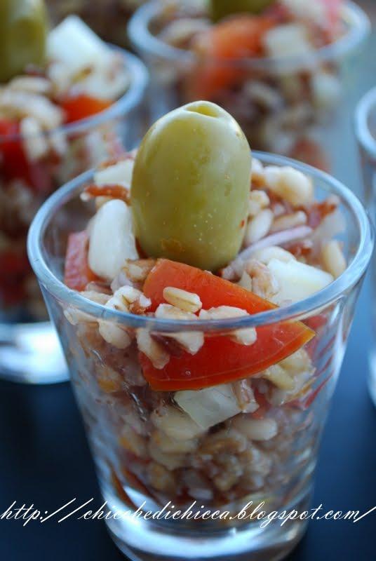 Le chicche di chicca 5 cereali in insalata for Cucinare qualcosa di fresco