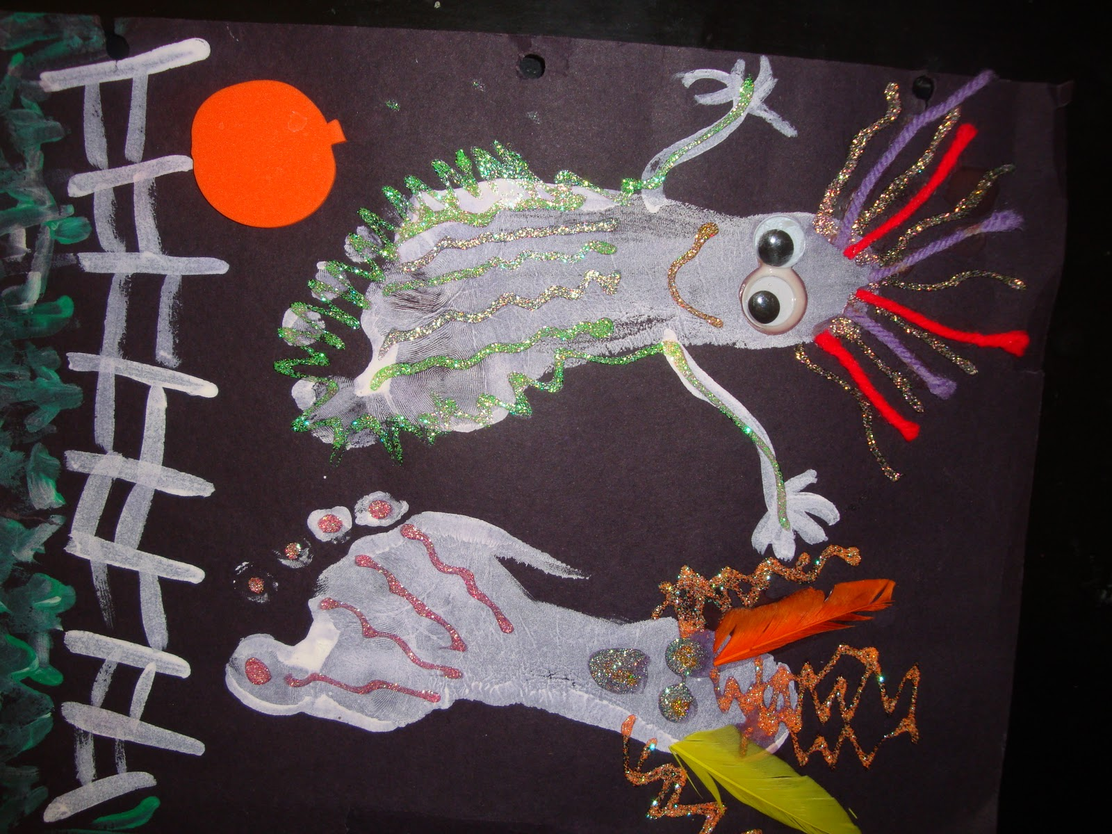 Nicci S Little Angels Arts Amp Craft Projects Halloween Ideas