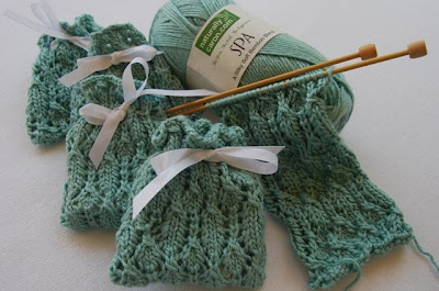 Junie Moon Lace Sachet Knitting
