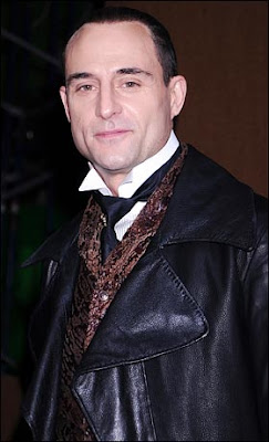 Mark Strong is Lord Blackwood in the new Sherlock Holmes movie.
