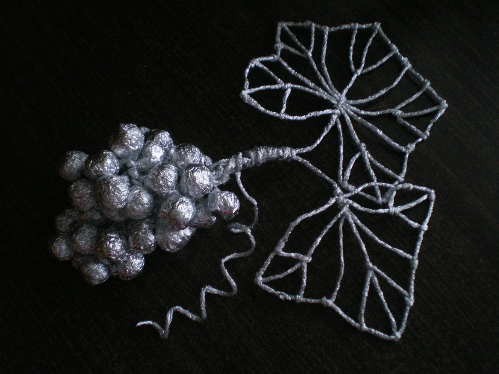 Плетение из фольги схема фото 700