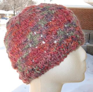 cbcb988ae My Knitting Basket: holey hat