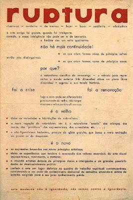Manifesto da Poesia Concreta | Augusto de Campos