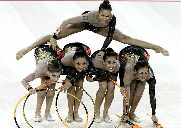 Ginástica Rítmica nos Jogos Olímpicos