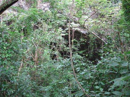 Entrada - Gruta da Lagoa Azul