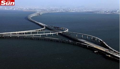 Maior Ponte do Mundo Fica na China