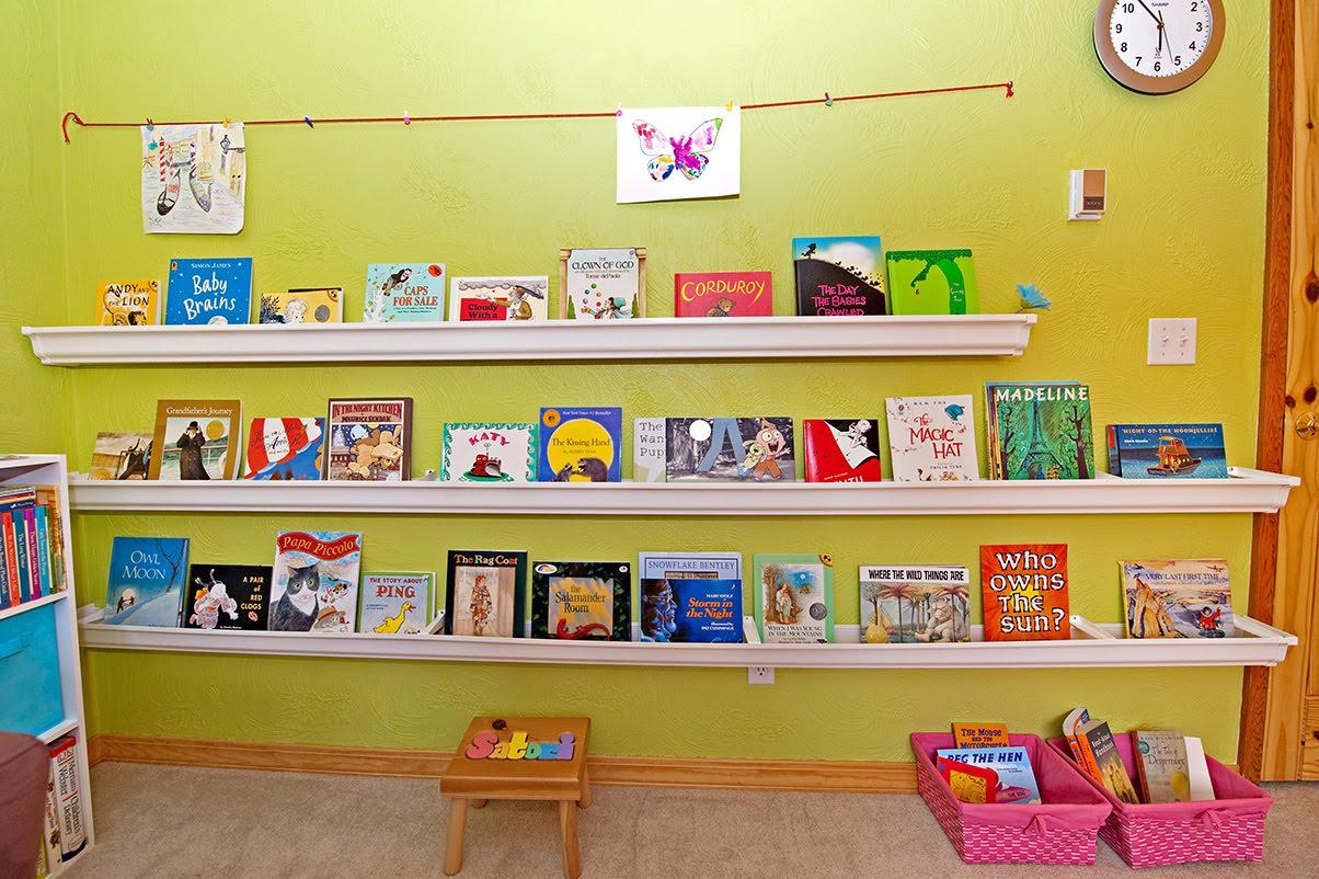 Rain Gutter Bookshelves Little Green Notebook