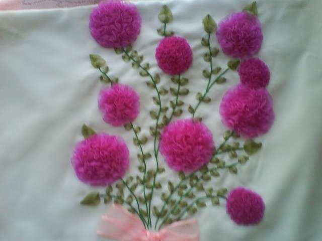 Flores Bordadas De Liston Imagui