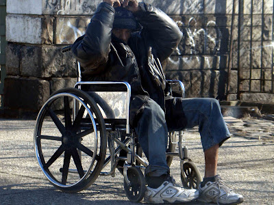 Wheelchair division for those who cant run!