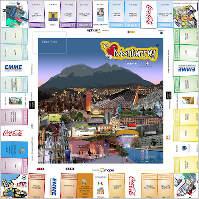 Monterrey Mexico Juego De Mesa Que Trata Sobre Monterrey Mexico