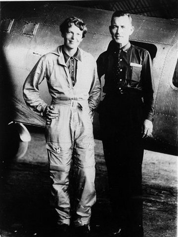 amelia earhart and fred noonan relationship