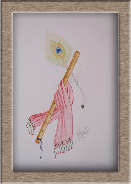 Art On Sketchbook By Megha Chhatbar Color Pencil Drawing