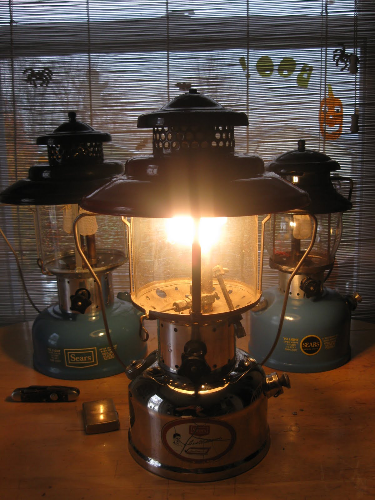 Vintage Coleman Lanterns: Sears Ted Williams Lantern