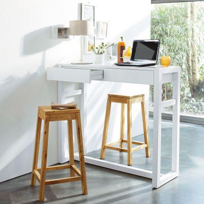 table bar petit espace table de lit. Black Bedroom Furniture Sets. Home Design Ideas
