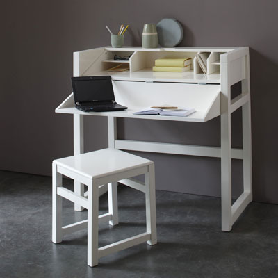 bureau console petit espace. Black Bedroom Furniture Sets. Home Design Ideas
