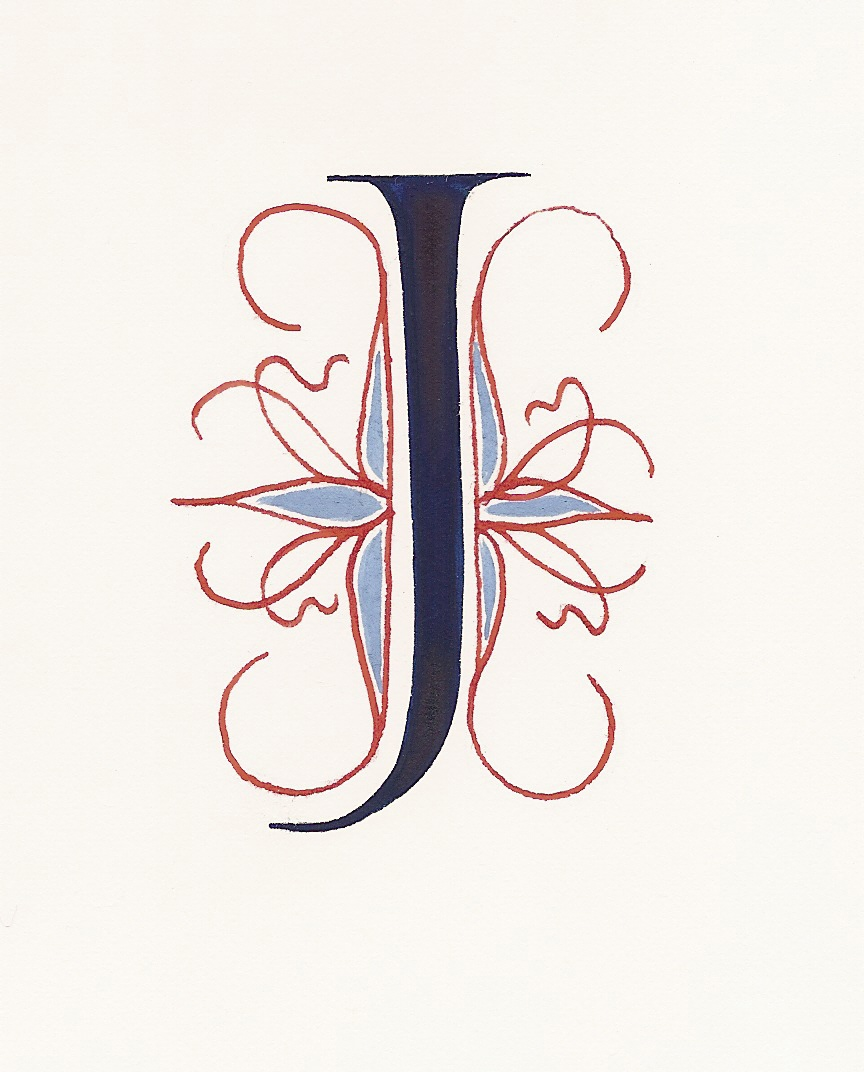 A Place To Flourish Calligraphy Flourish Friday The Saint John S