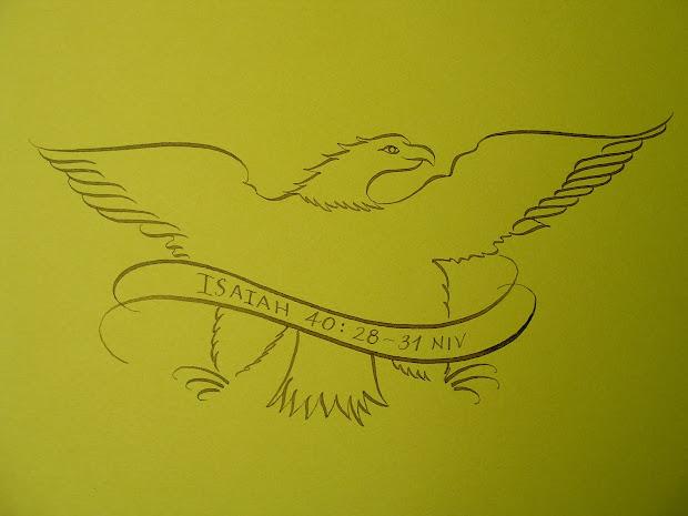 Place Flourish Calligraphy Friday - Isaiah