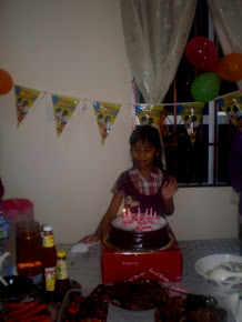 BDAY SAKINAH 9yrs