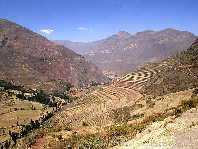 Mi Moleskine Arquitectónico Andenes Terrazas Incas Y Paisaje