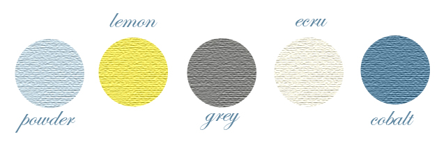 Peachy Keen Color Scheme Yellow Grey Blue