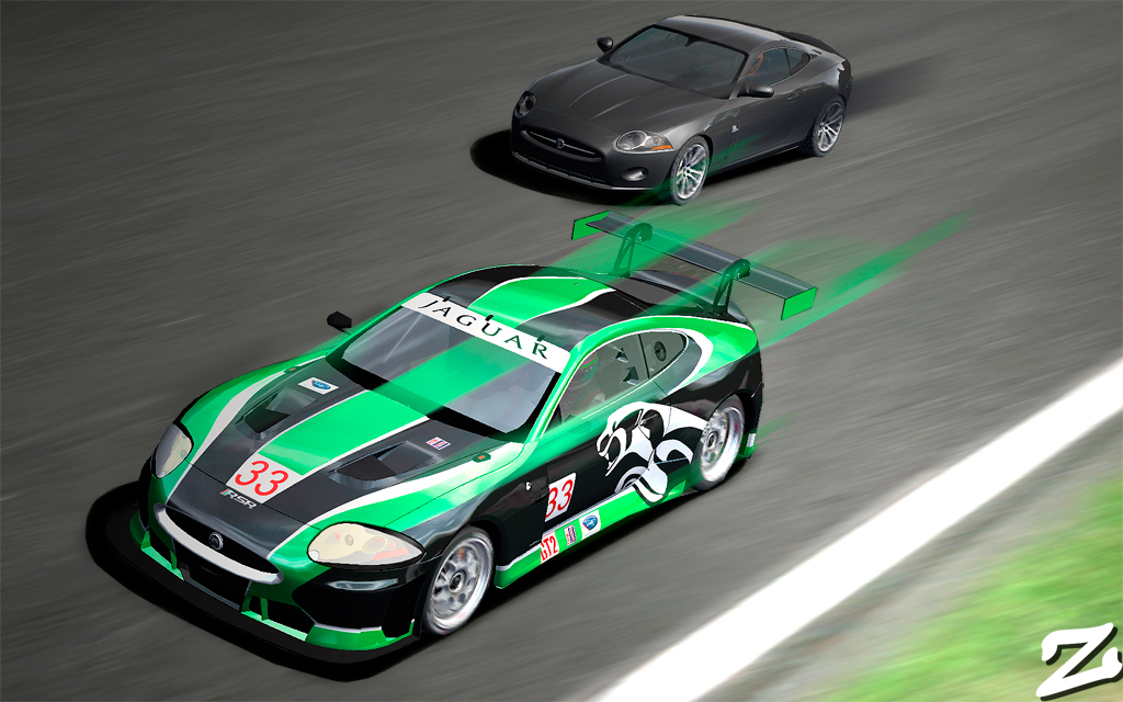 ZowLe's Gallery: Jaguar RSR & XKR at Silverstone
