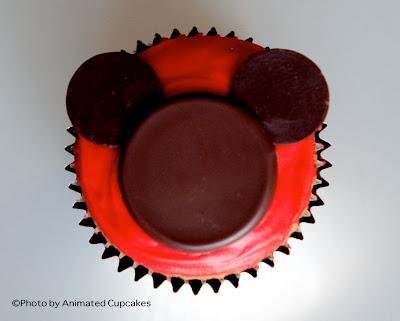 cupcake de Mickey Mouse
