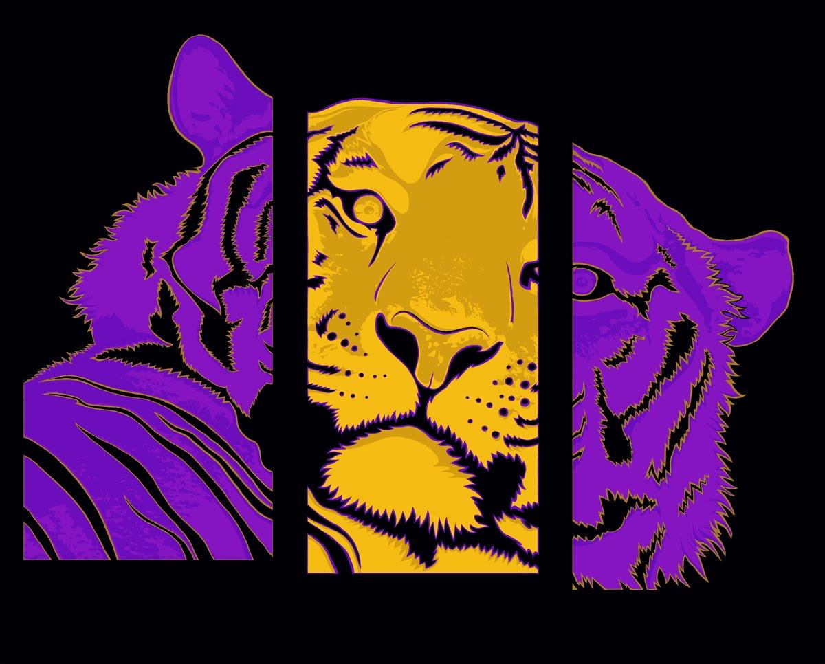 Lsu Tiger Heilig Art Performance Painter
