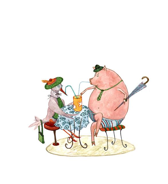 Sper Poetry: AlandaLand: Bookataria 1: Illustrations For Grete Tartler