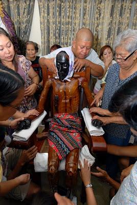 Paete Ritual, Bathing Ritual, Paete, Laguna, Santo Sepulkro