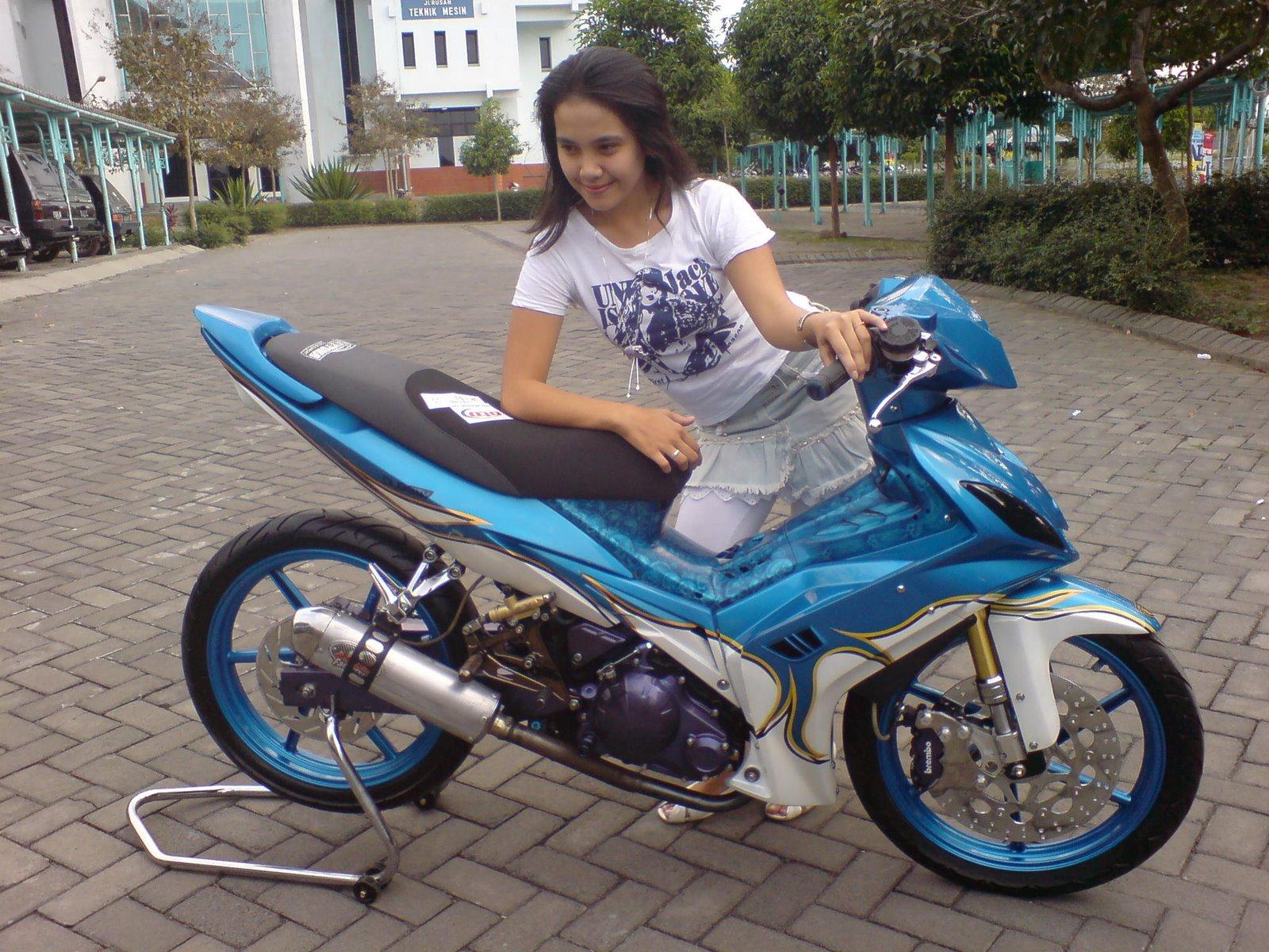 Gambar Foto Modif Motor Jupiter MX Keren