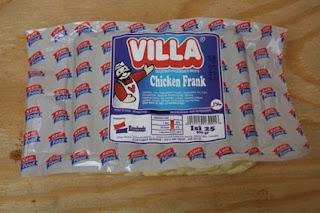 chicken frank, sosis ayam, sosis ayam villa