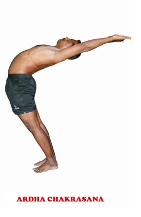 sri veeramaruthi yoga center ardha chakrasana