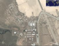 The mysterious Area 51 (satelite view)