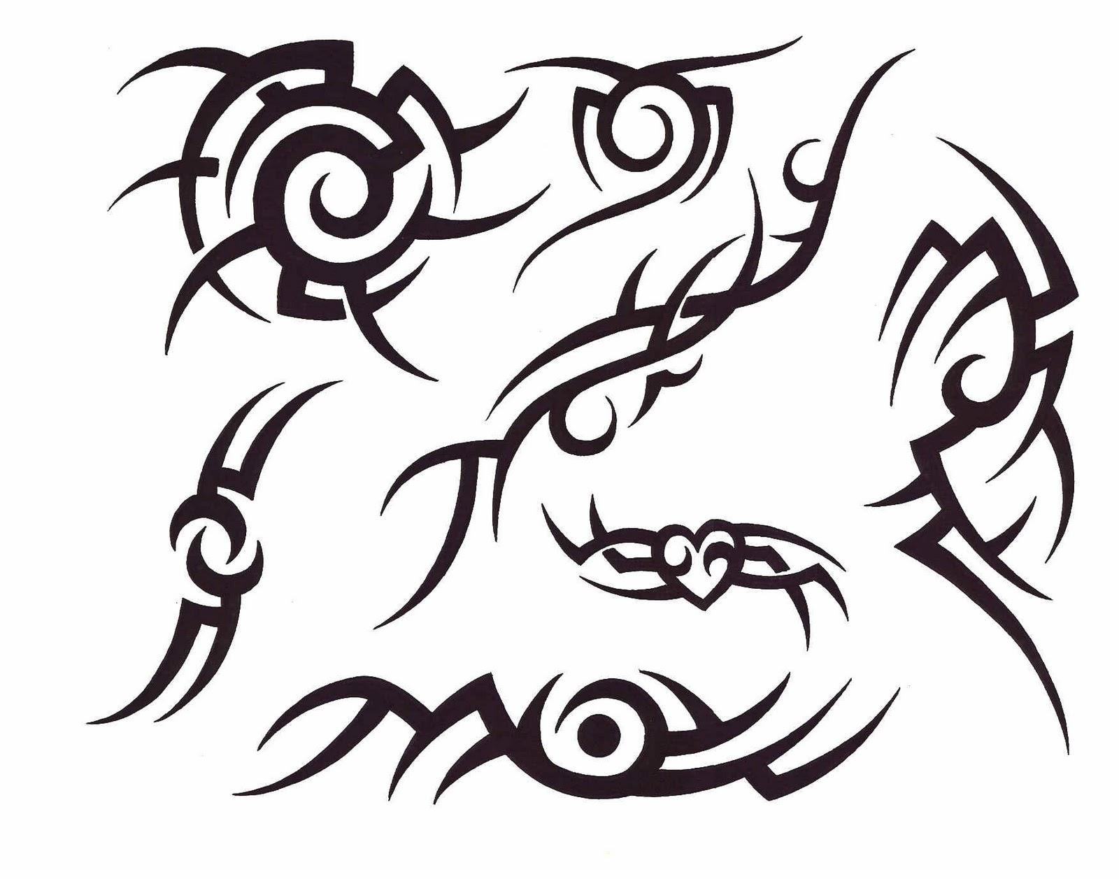 Tribal Henna Designs: Free Tribal Henna Tattoo Designs, Evil Clown Tattoos Free