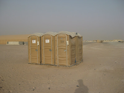 Different Water for Sinks and Toilets--Camp Beuhring, Kuwait, and Amtrak