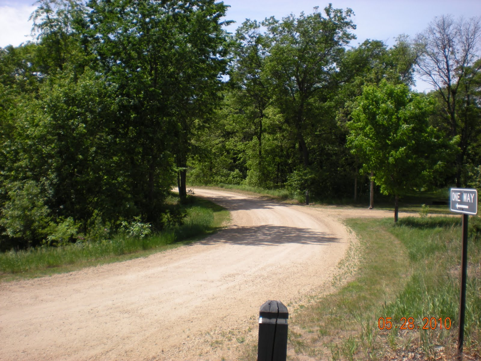 Minnesota Camping Bunker Hills Campground Memorial