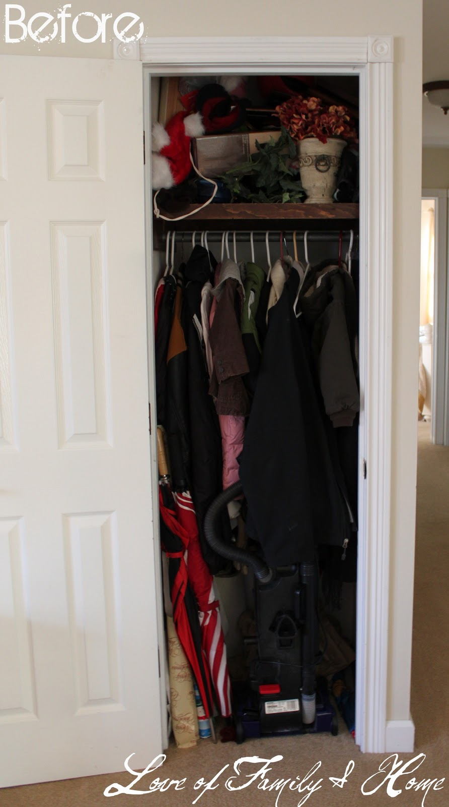 My Closet Turned Home Office Reveal