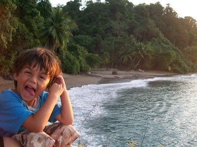 Silly Beach Bums in Cano Island Biological Reserve - Costa Rica Islands