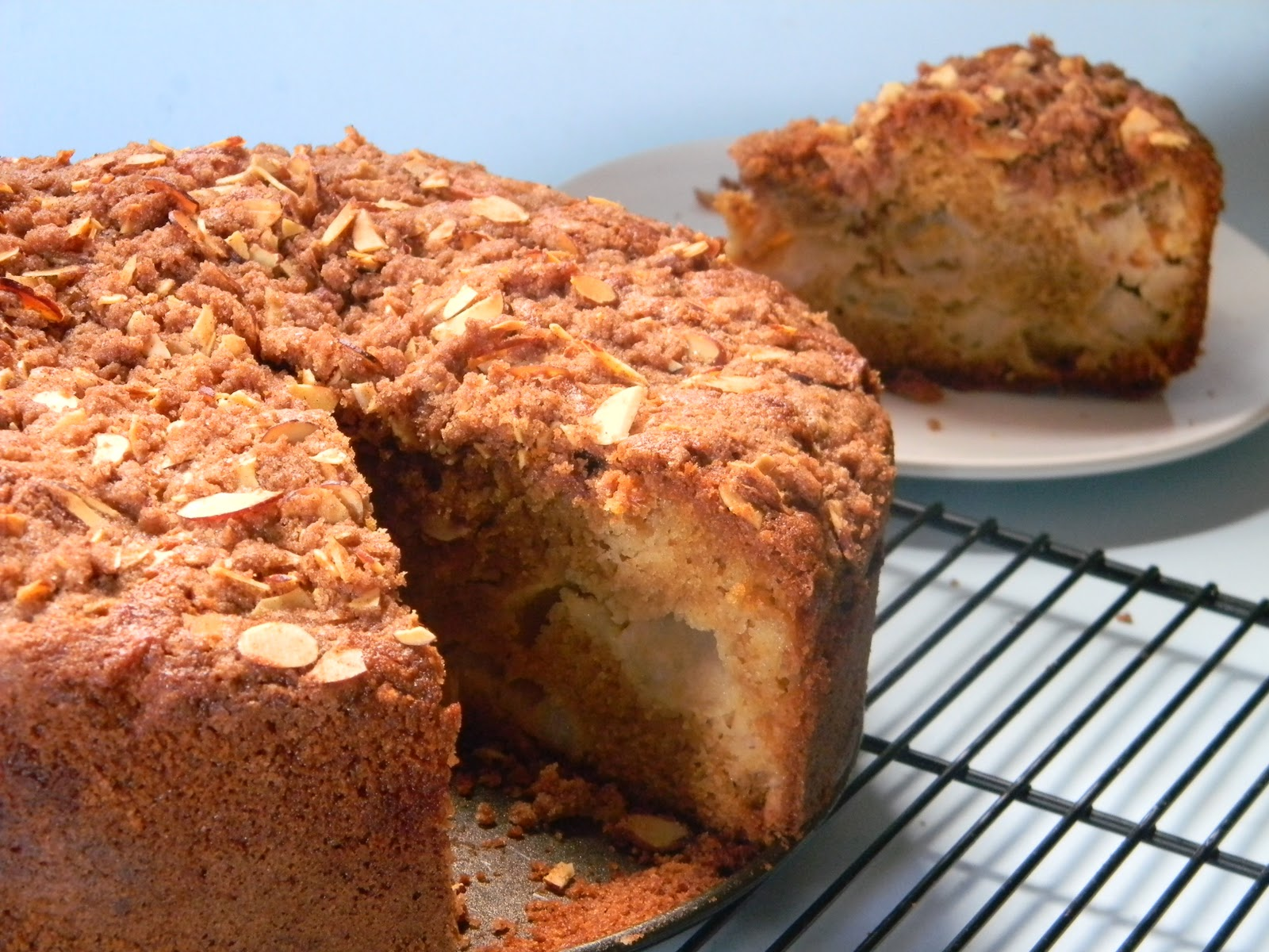 Jamie Oliver Apple Crumble Cake
